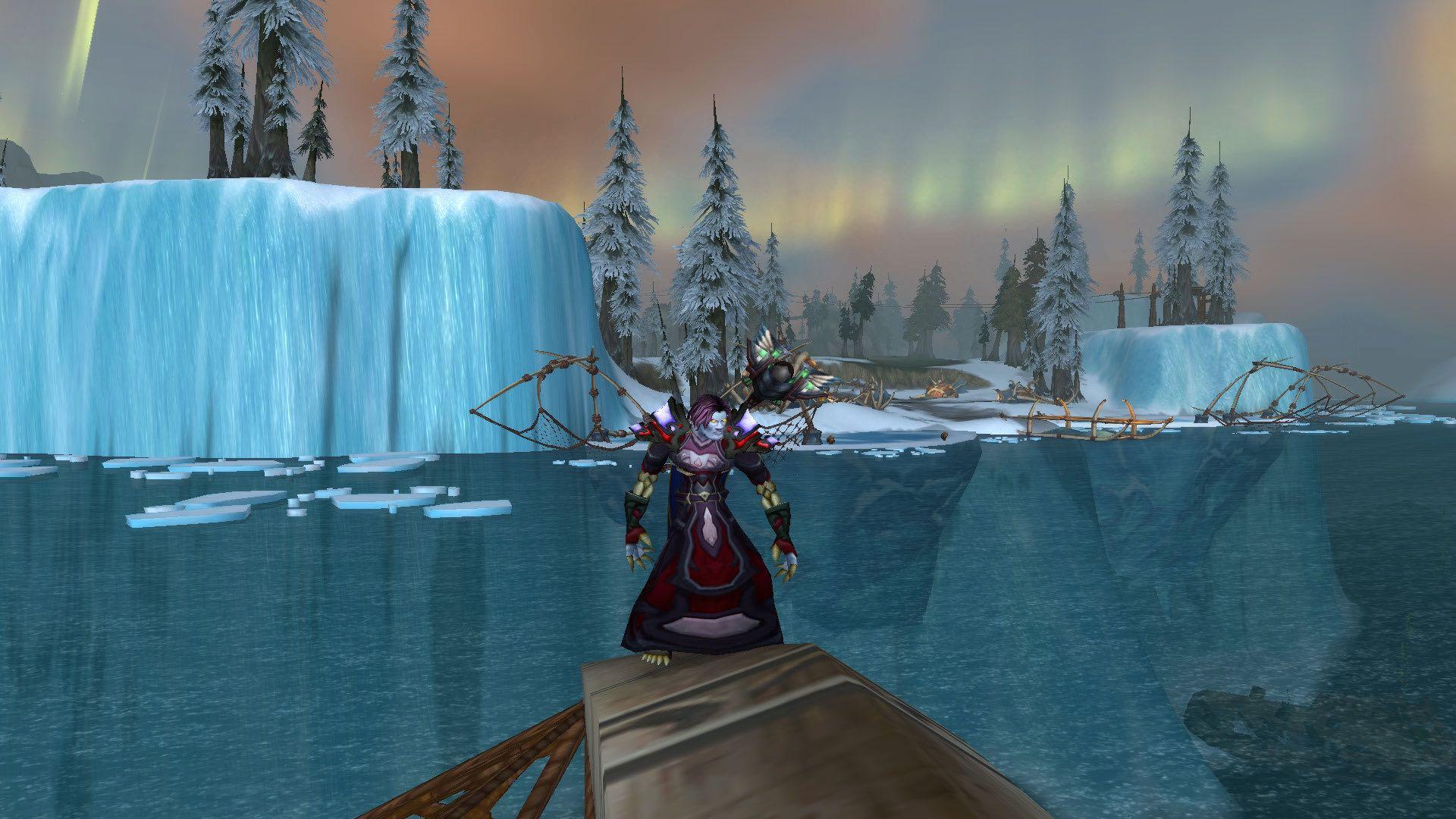 坐船穿越冰冻之海