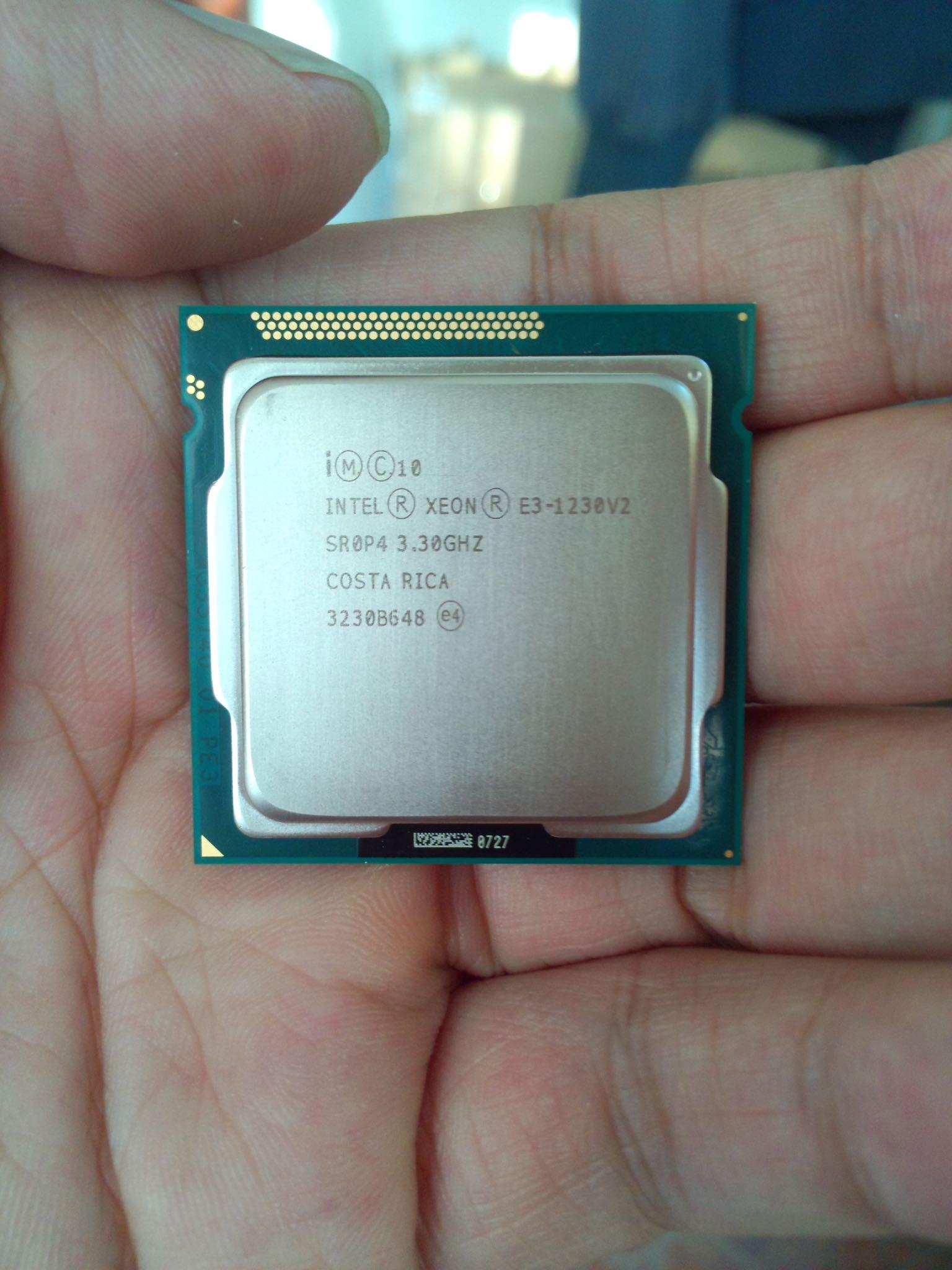 CPU到了!
