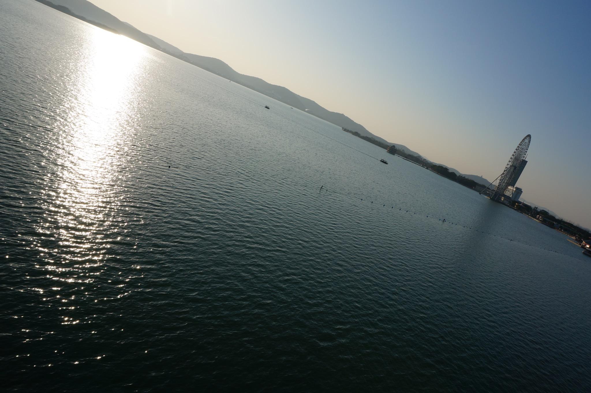 蠡湖大桥上