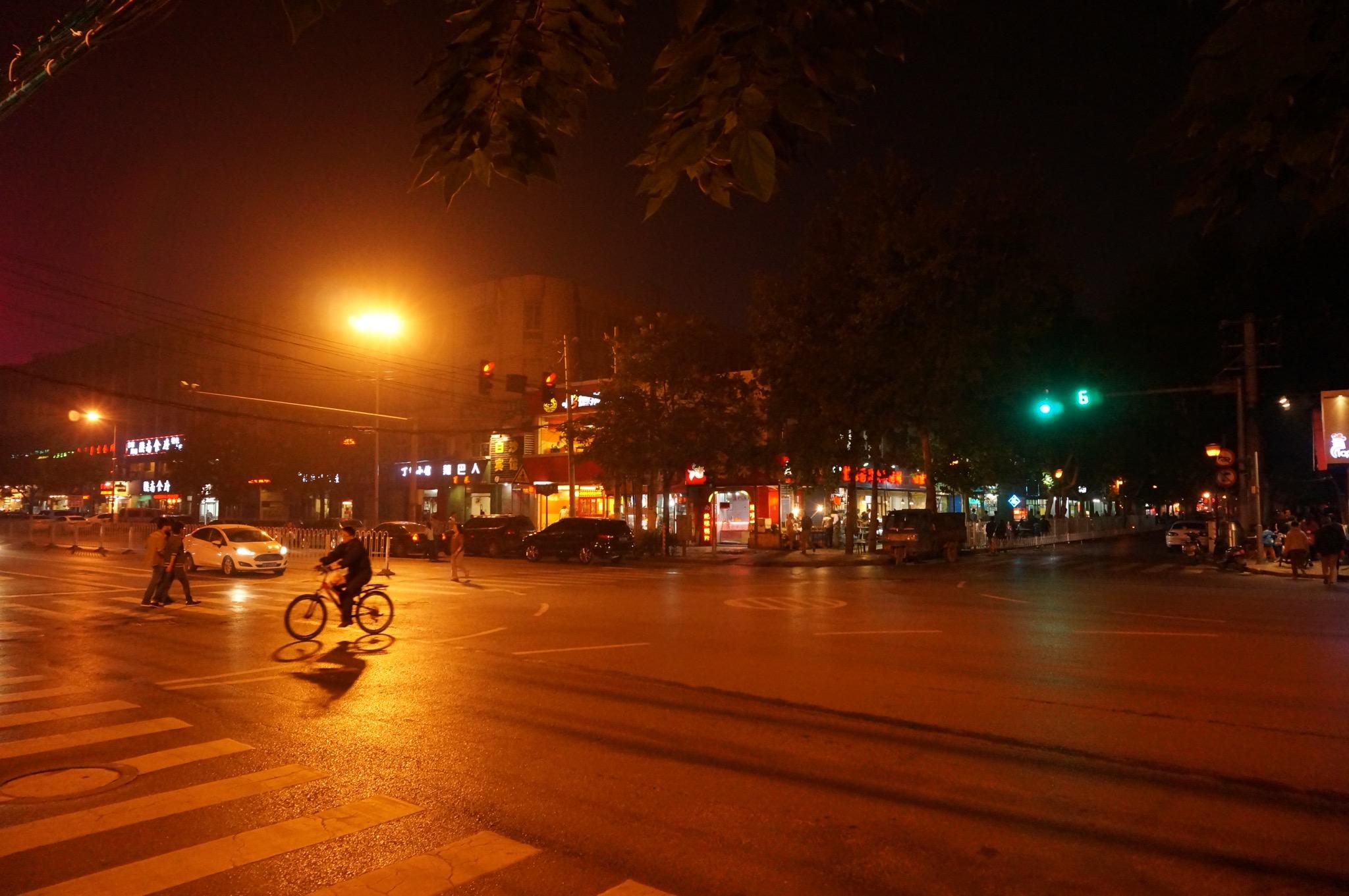 西南门口外徐家庄,我吃饭过的街道