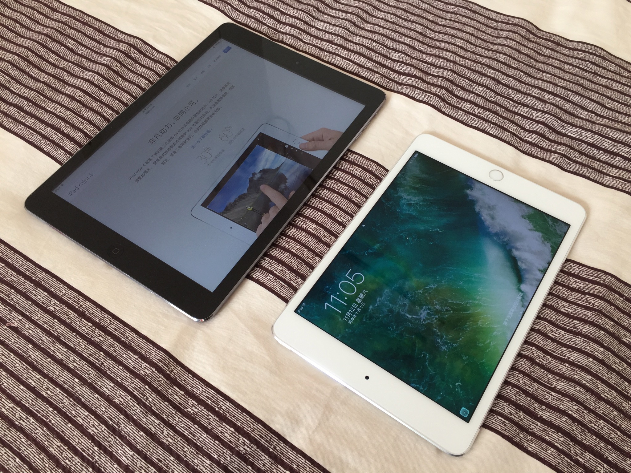 iPad mini4 vs iPad Air