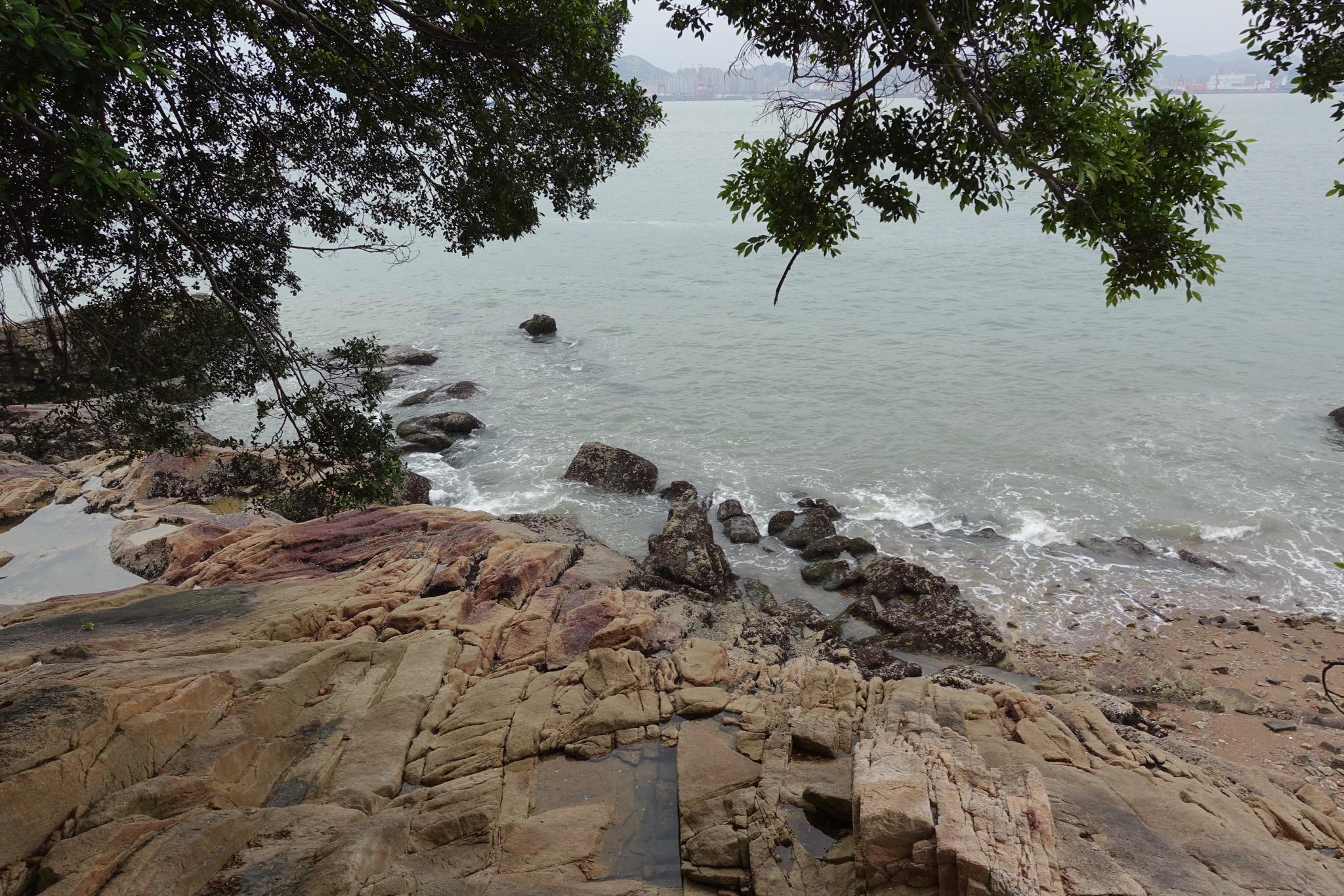 菽庄花园海岸