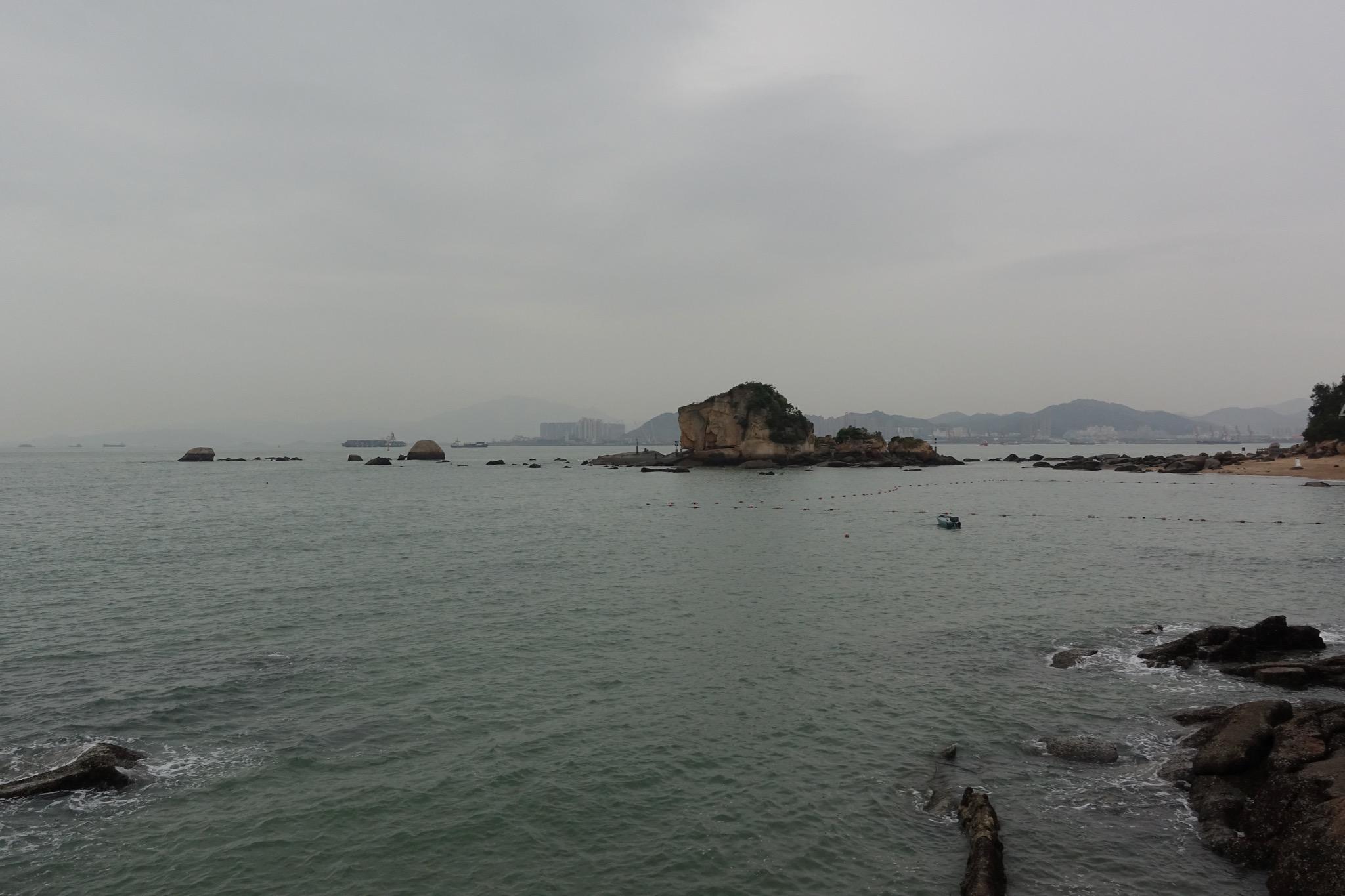 皓月园观海