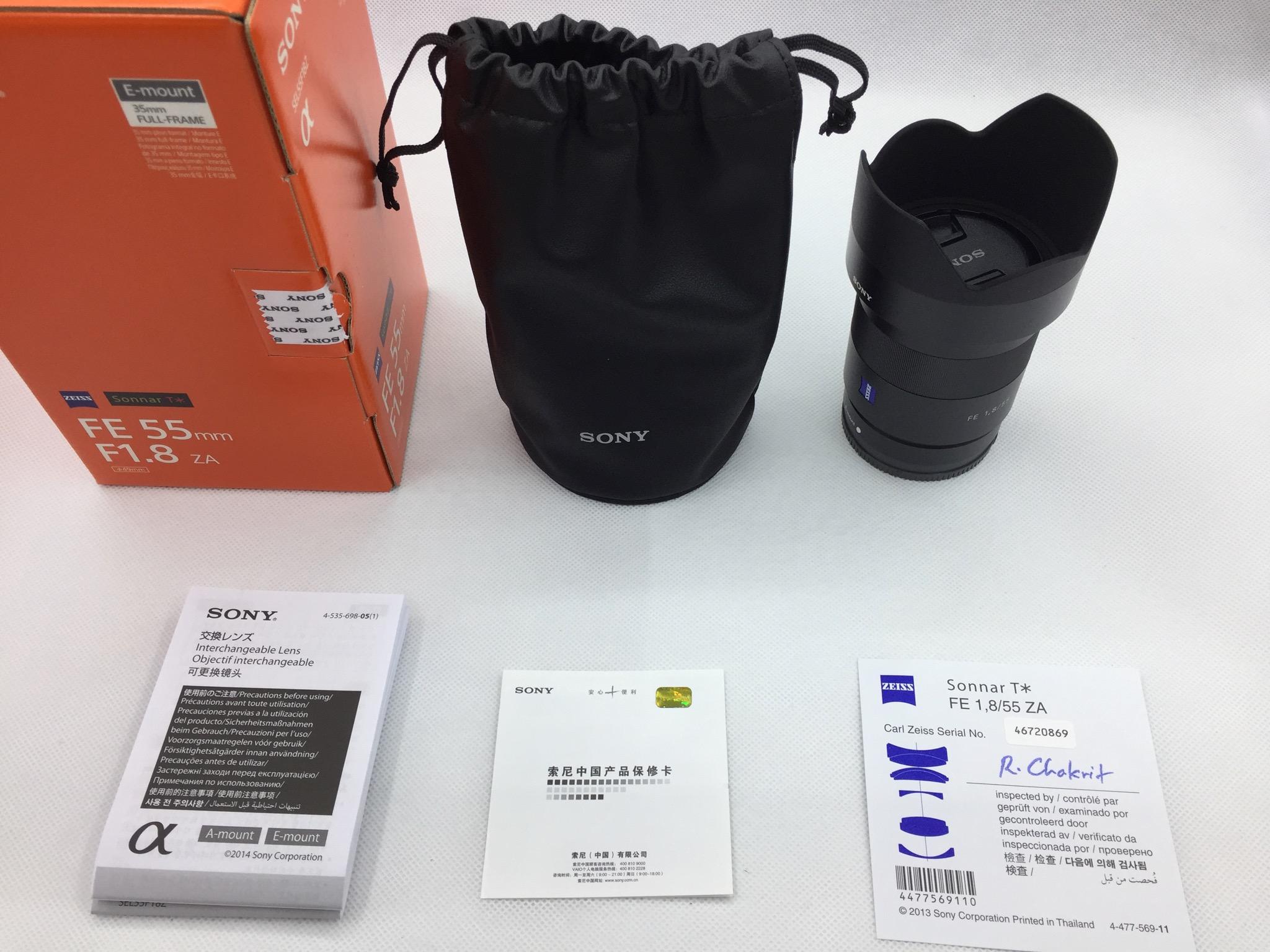 FE55 包装盒内一览
