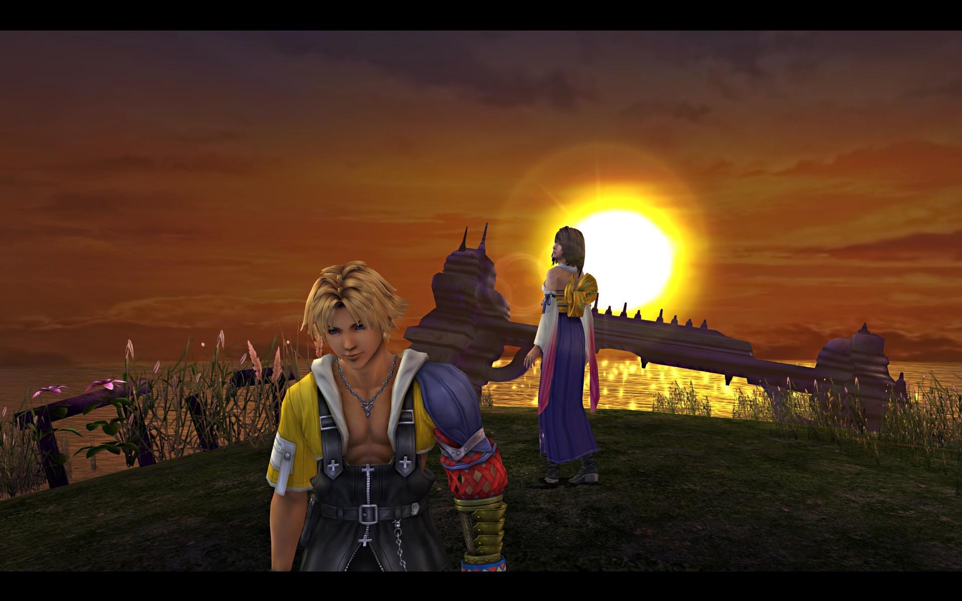 在听说历史上的Zanarkand已经在1000年前就毁灭了后,Tidus感到很震惊