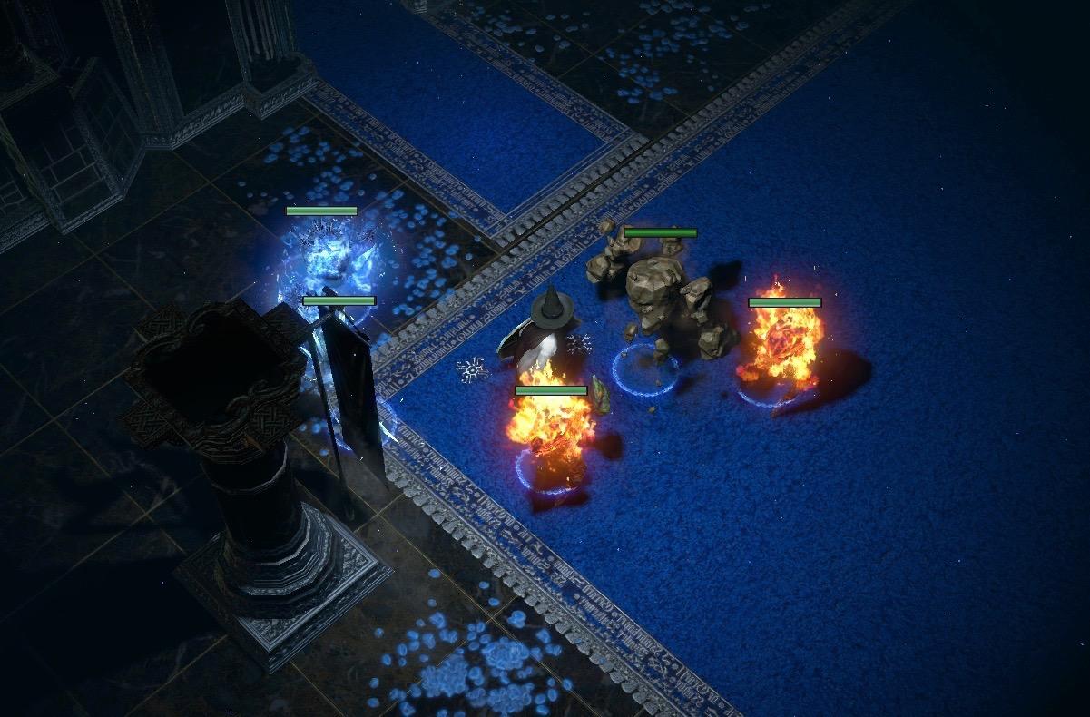 月影神殿的地毯