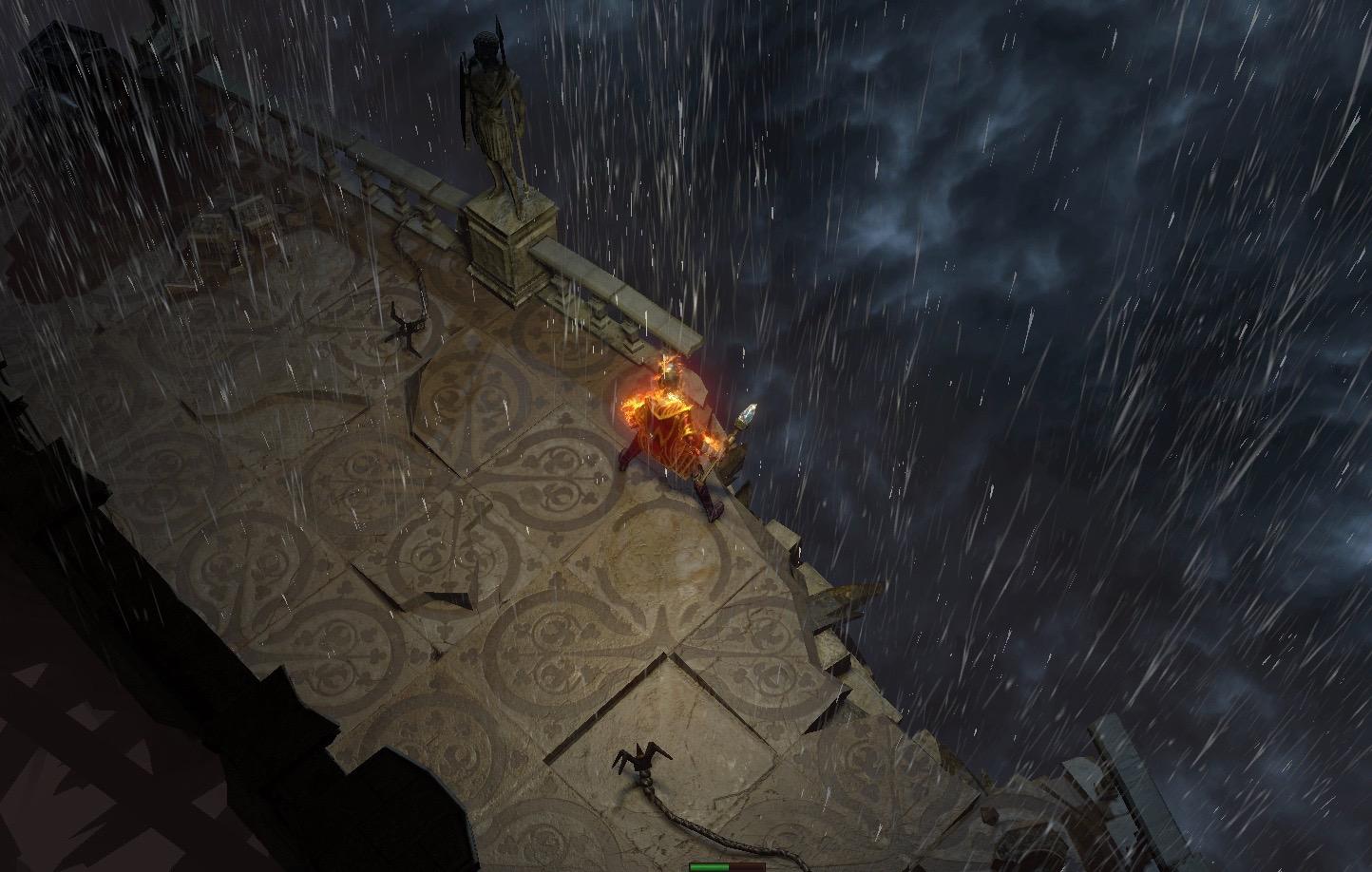 神权之塔上听雨