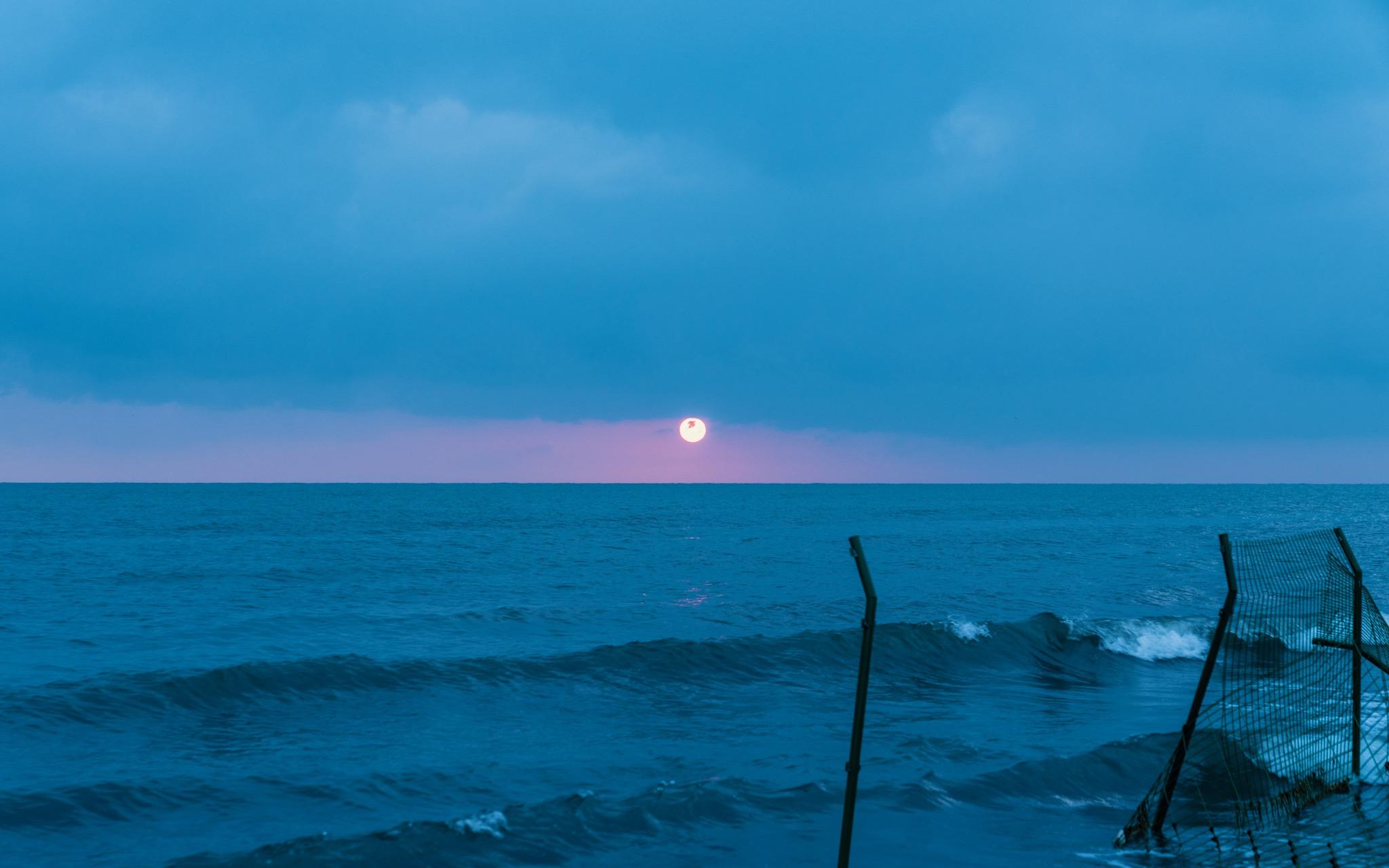 青海湖日出