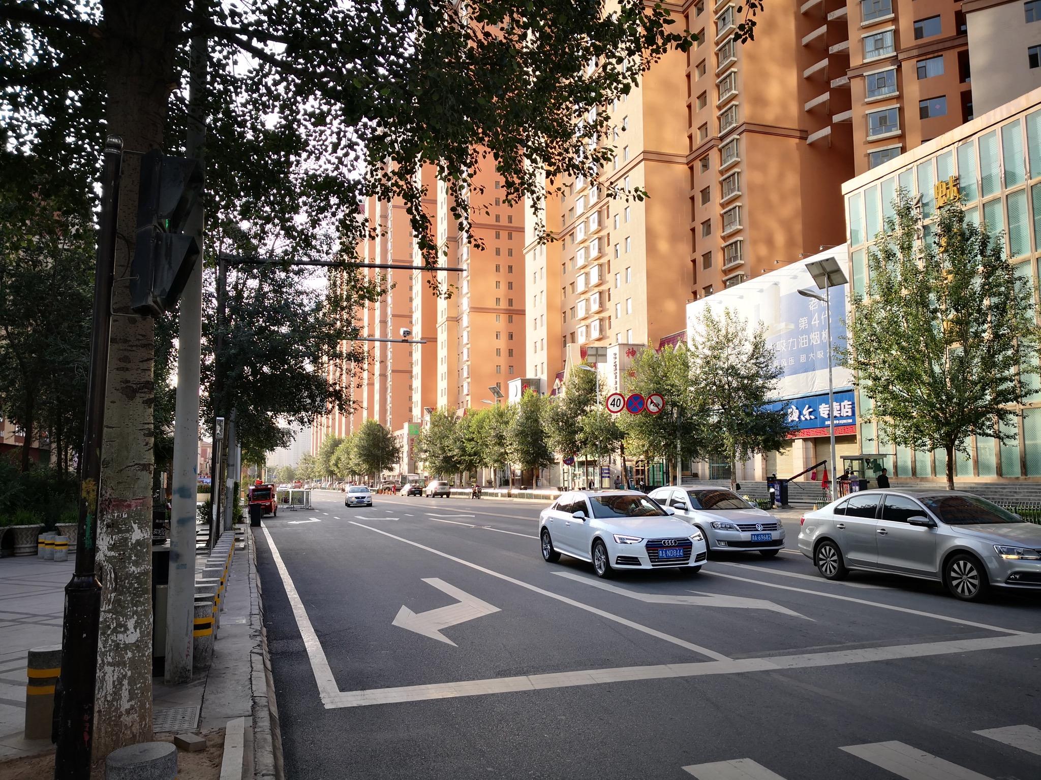西宁市街景