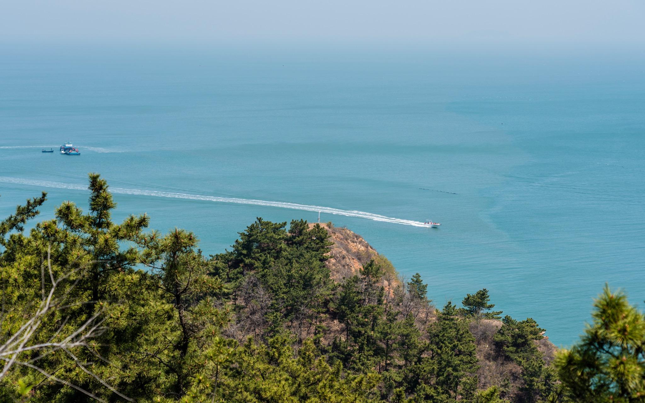 渤海黄海交汇处