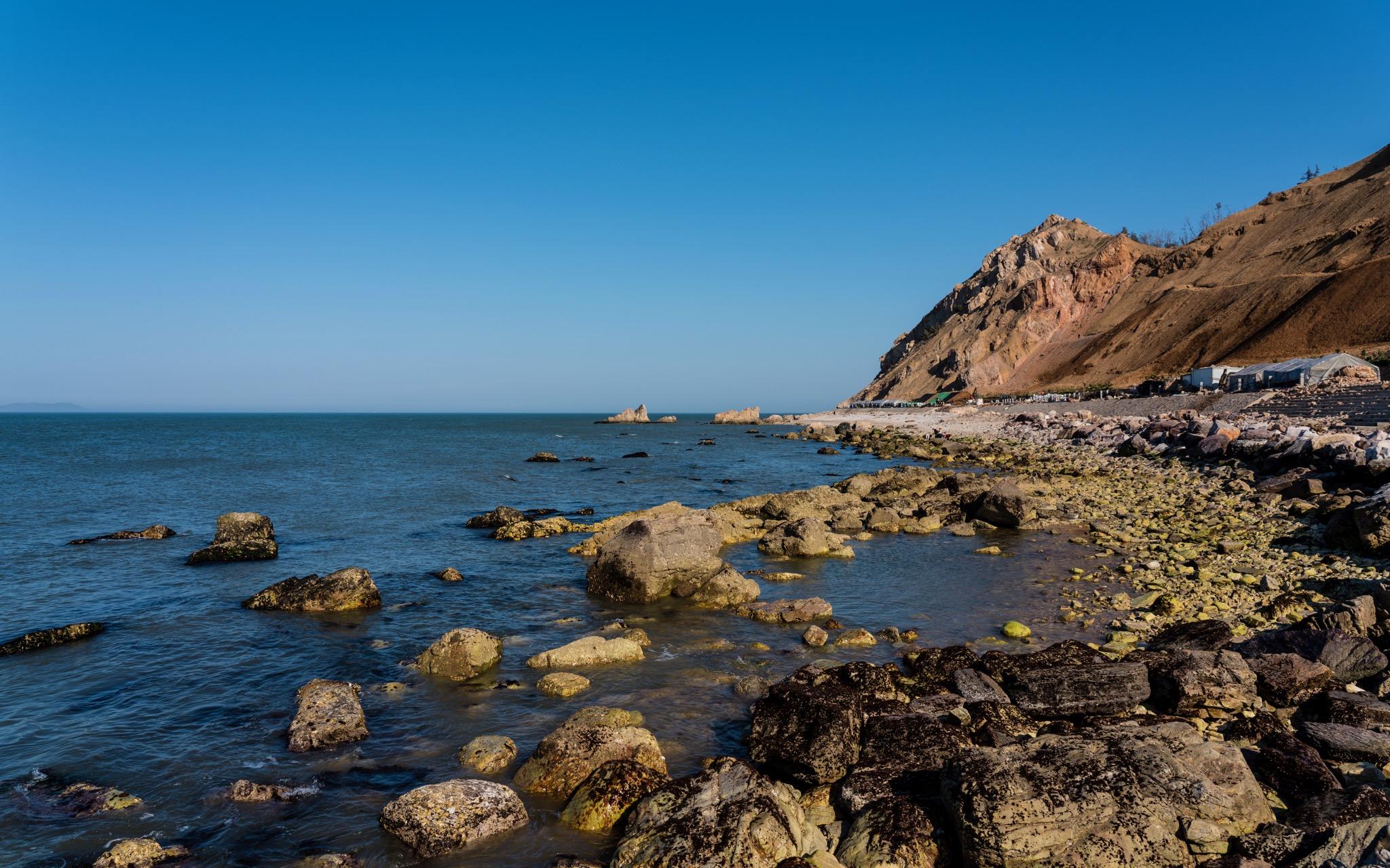 月牙湾东部海岸